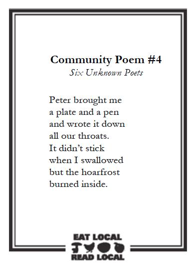 Six Unknown Poets_Community_Poem
