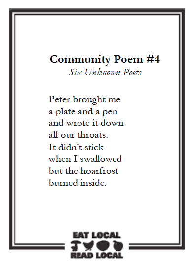 Six Unknown Poets_Community_Poem